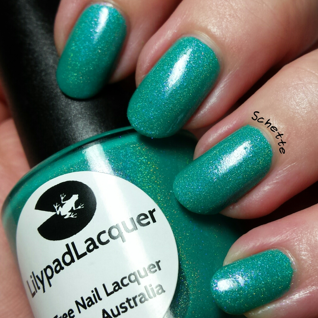 Lilypad Lacquer : Neon Ocean Lights