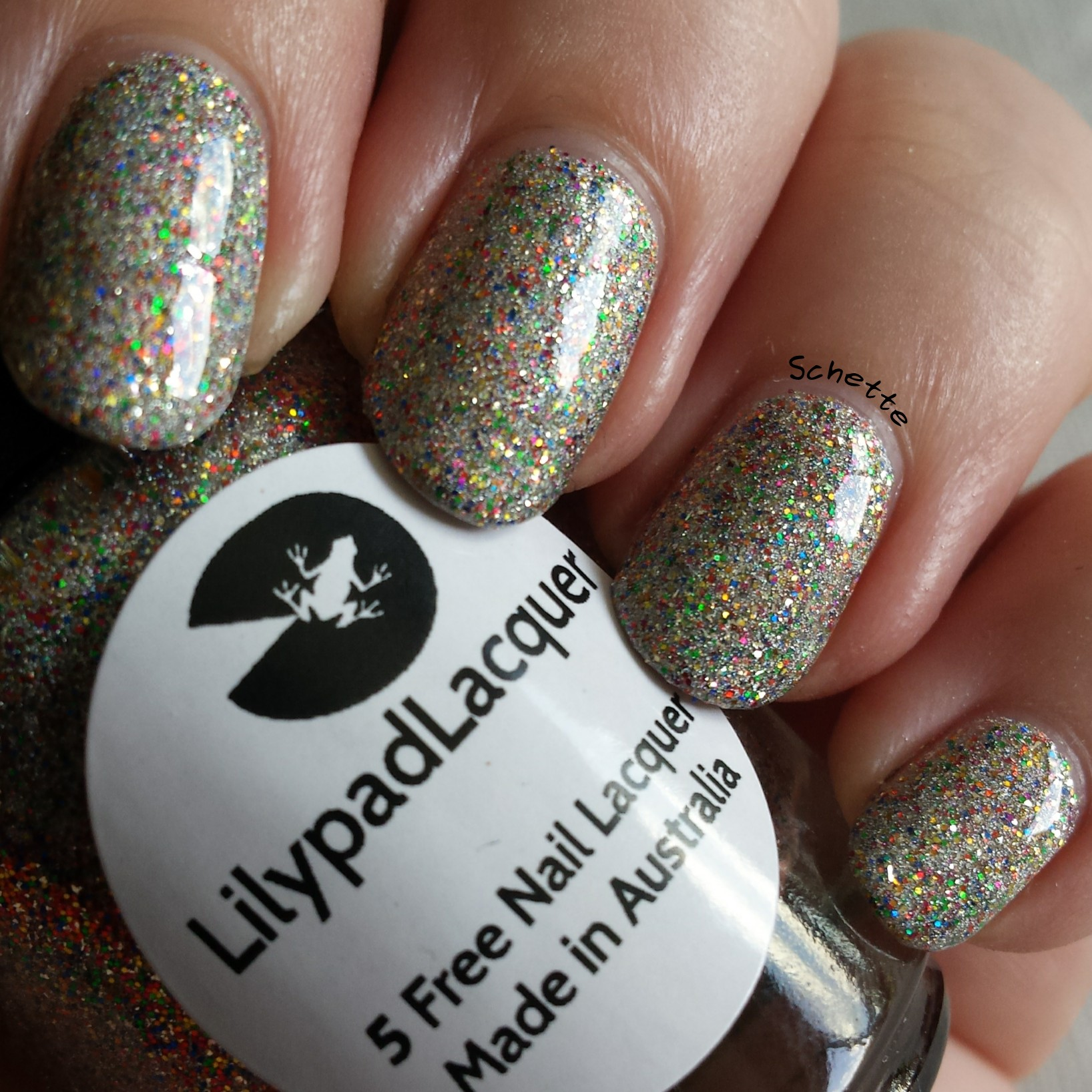 Lilypad Lacquer : Sherbet Sprinkles, Lime Zinger