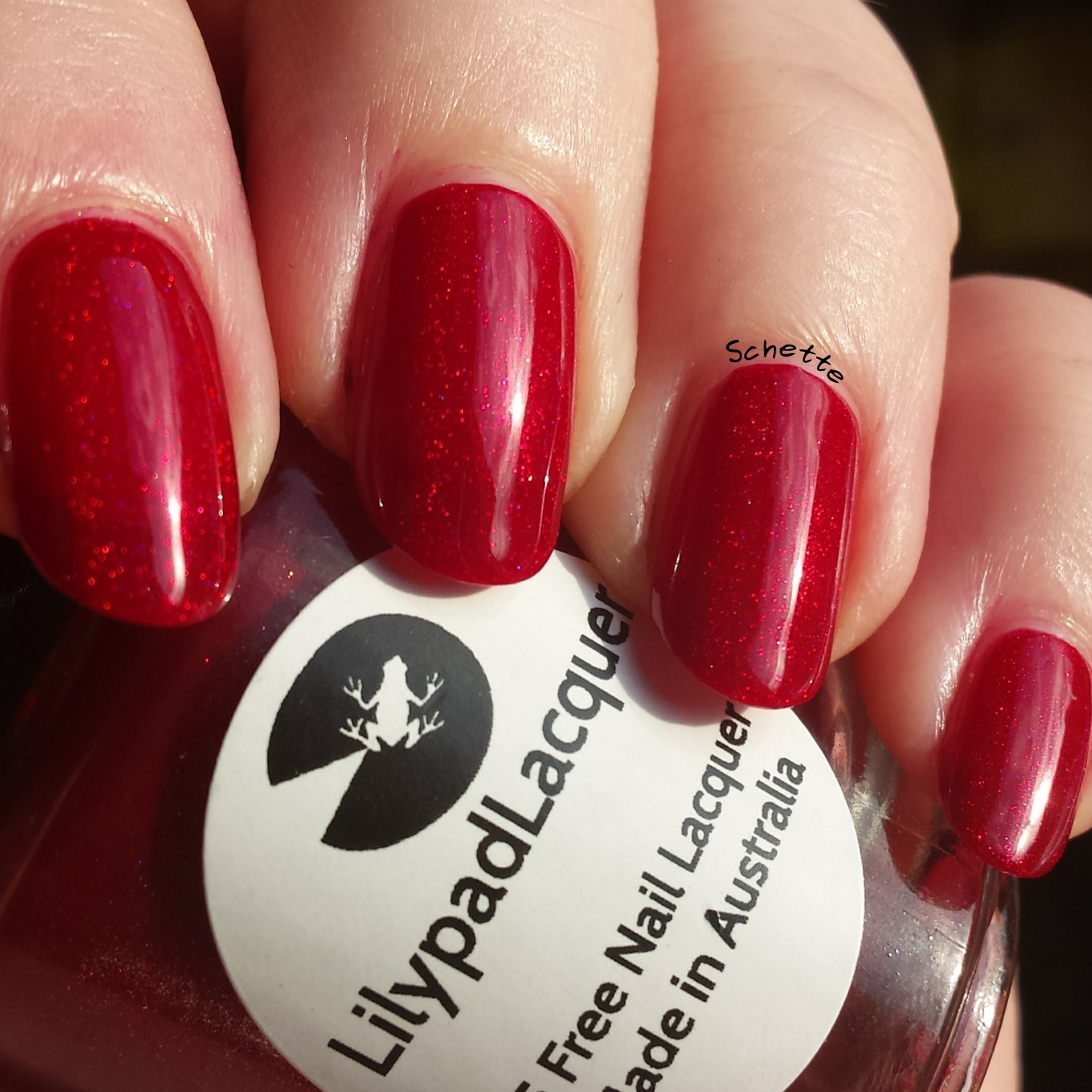Lilypad Lacquer : Rebel at heart