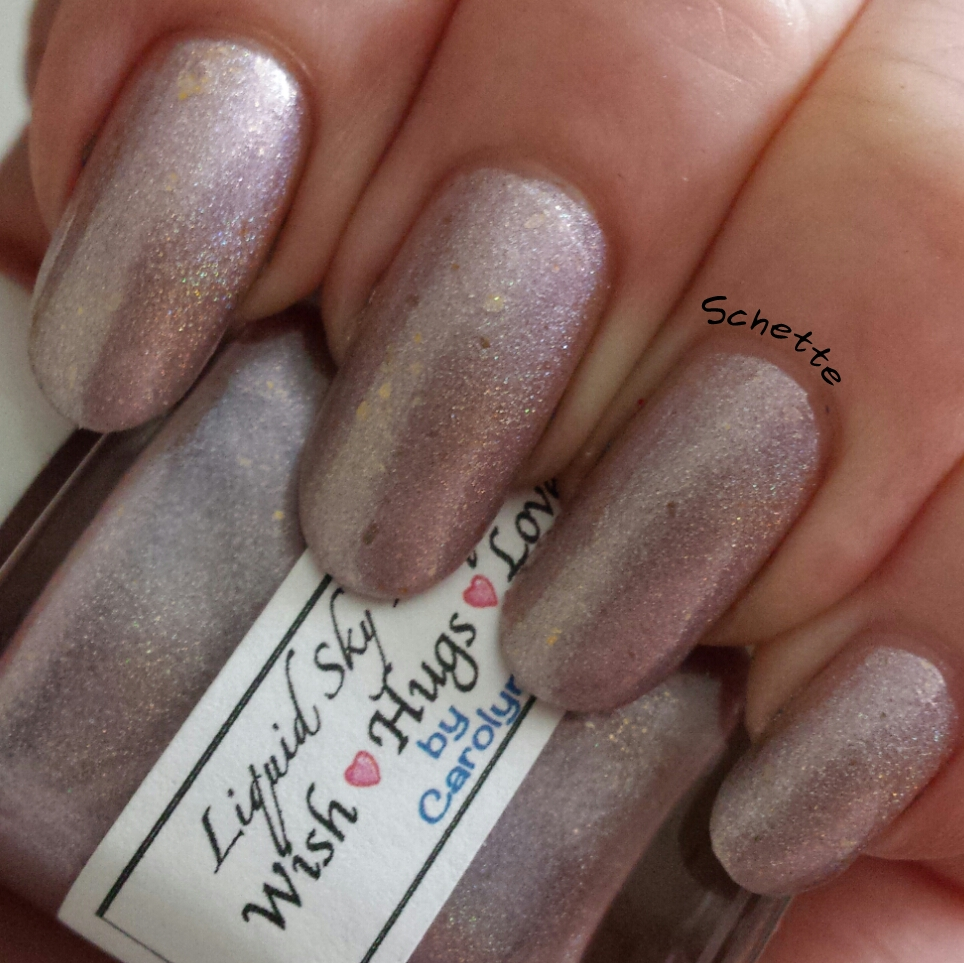 Liquid Sky Lacquer : Wish <3 Hugs <3 Love, Purple Fairy