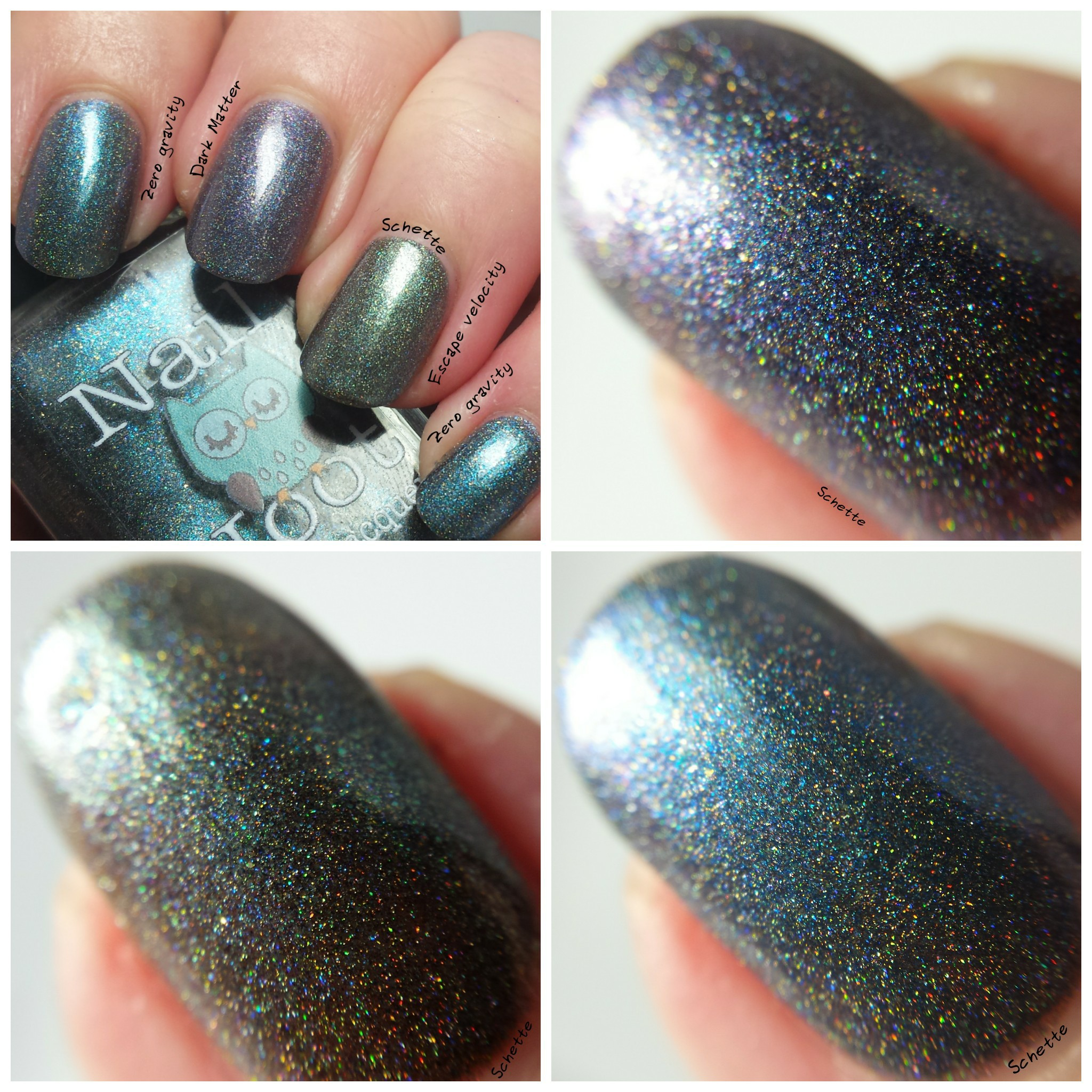 Nail Hoot : Space Galaxy Trio