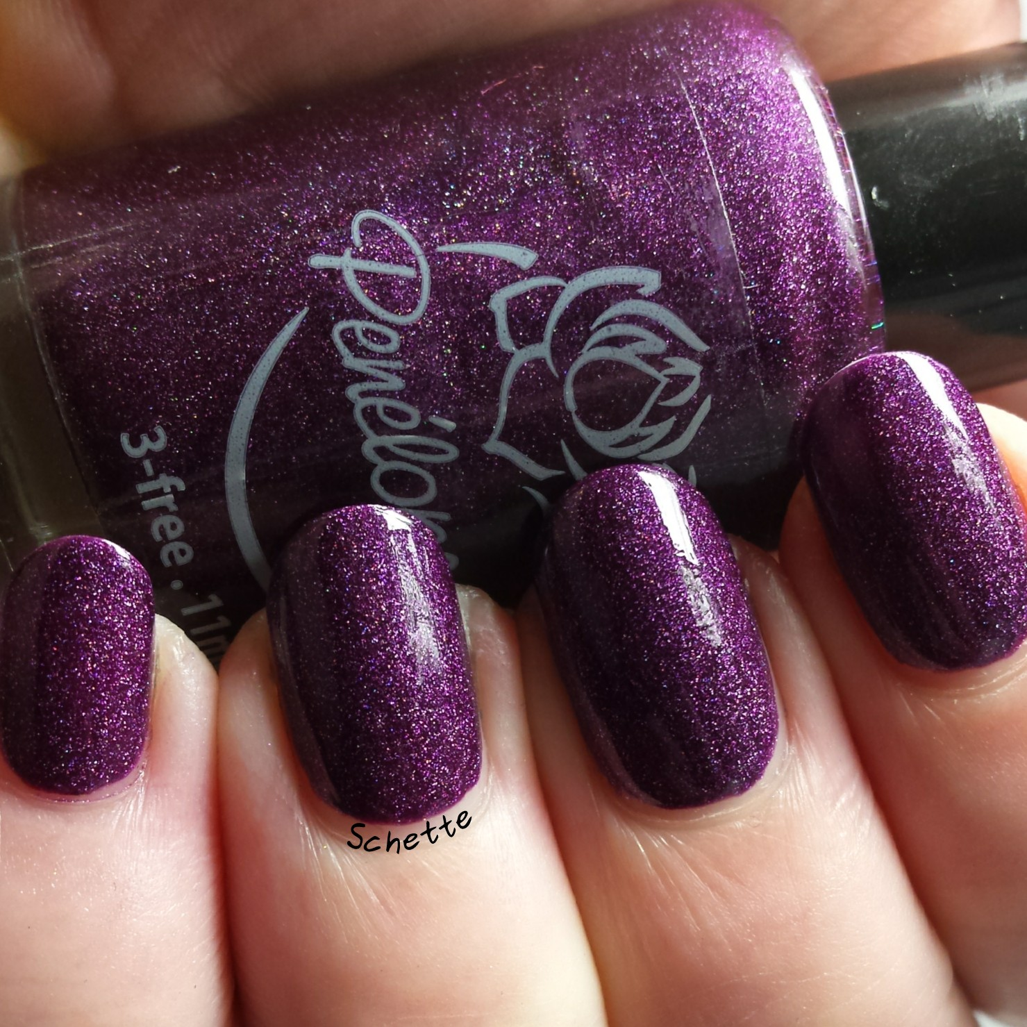 Penelope Luz : Belladonna, To the infinty, Glam Polish : Blizzard