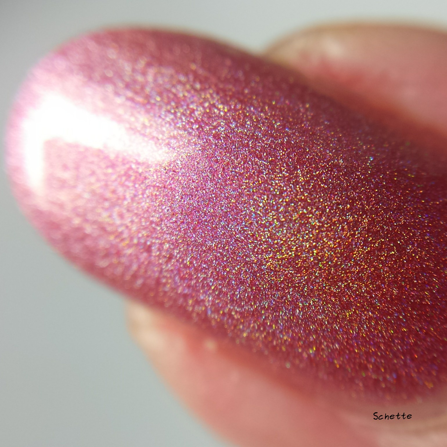 Too Fancy Lacquer : Fidden Strawberry