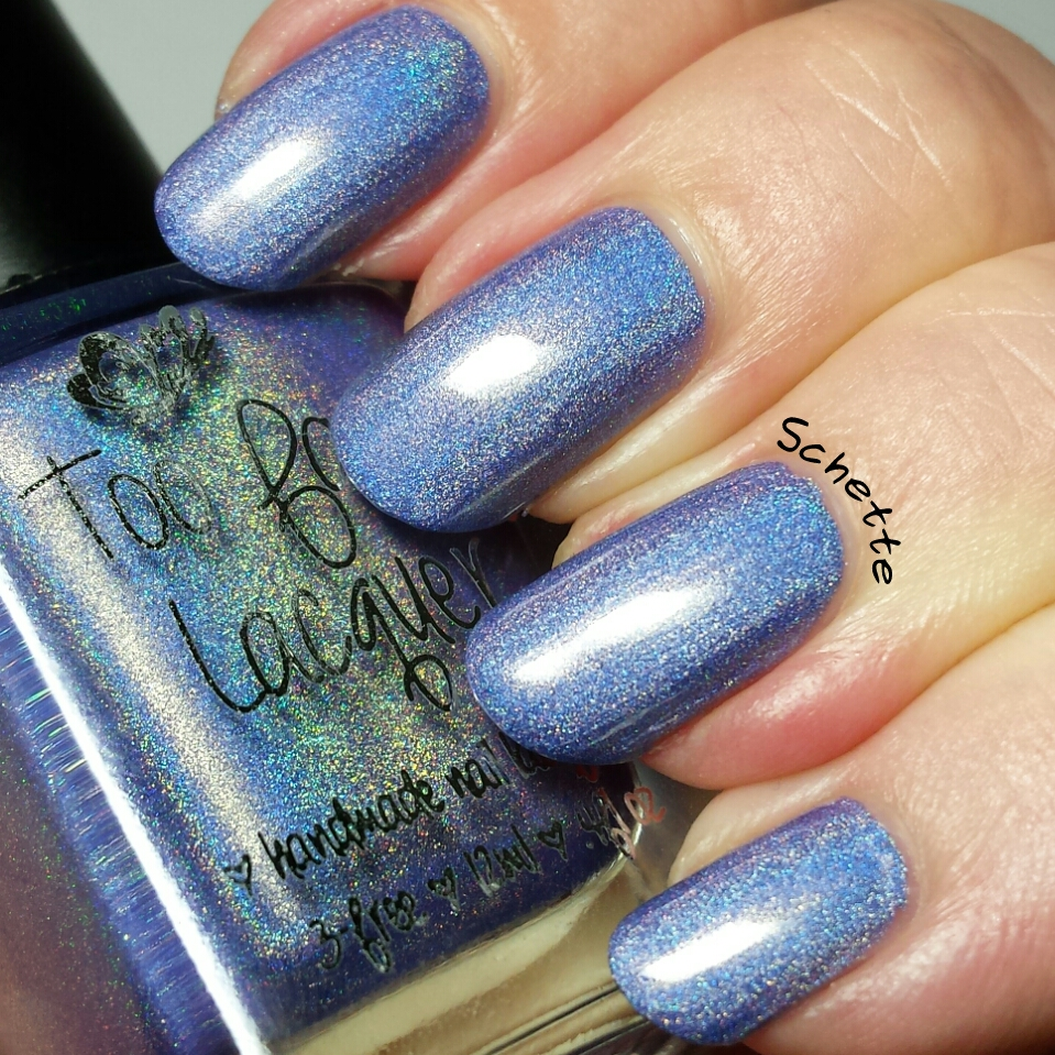 Too Fancy Lacquer : Purple Iris