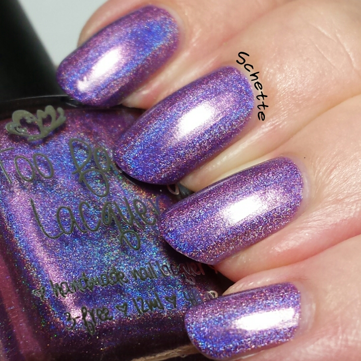 Too Fancy Lacquer : The oops within