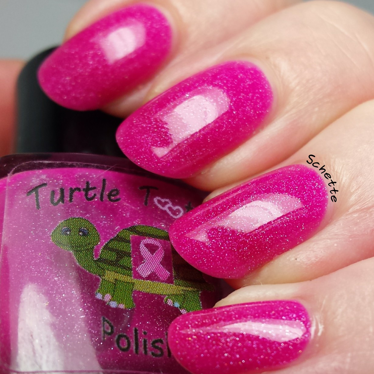 Turtle Tootsie Polish : Breast Cancer Awareness Collection