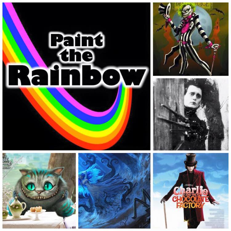 Paint the Rainbox Box - October 2015