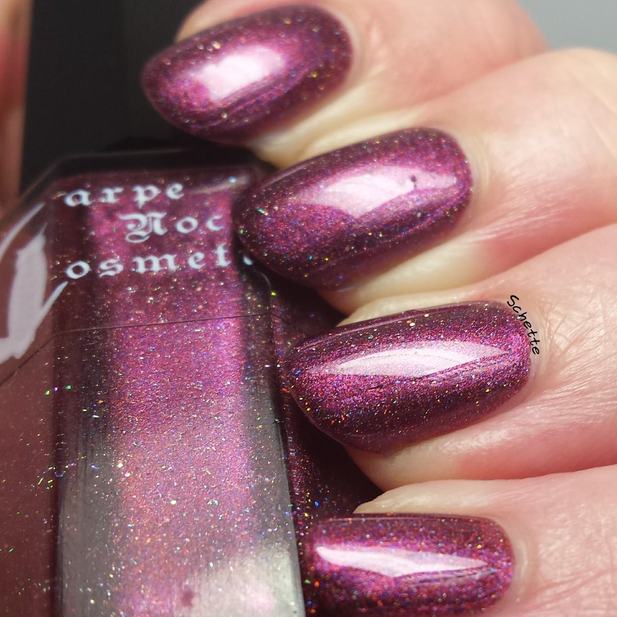 Carpe Noctem Cosmetics : Beauty in her fight