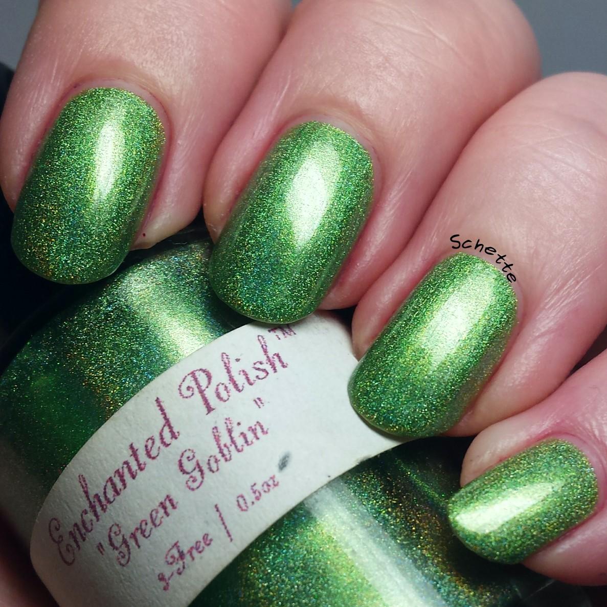 Enchanted Polish : Green Goblin