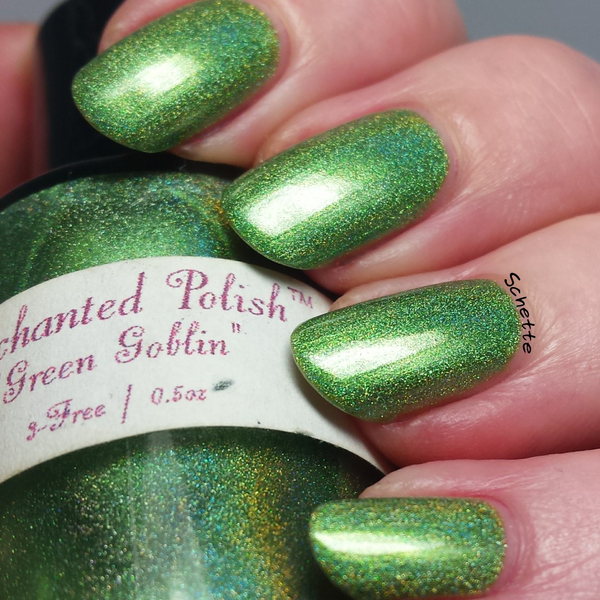 Enchanted Polish : Green Goblin