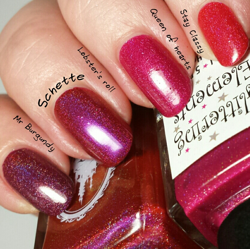 Enchanted Polish : Red Skittle Mani