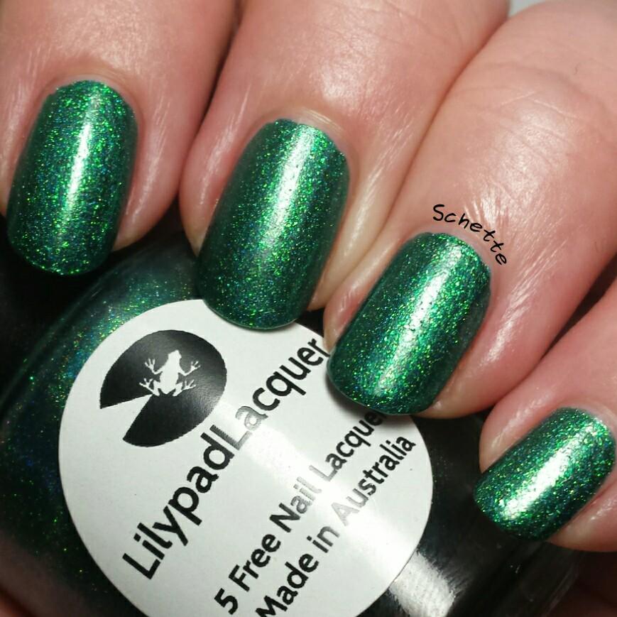 Lilypad Lacquer : All my greens come true