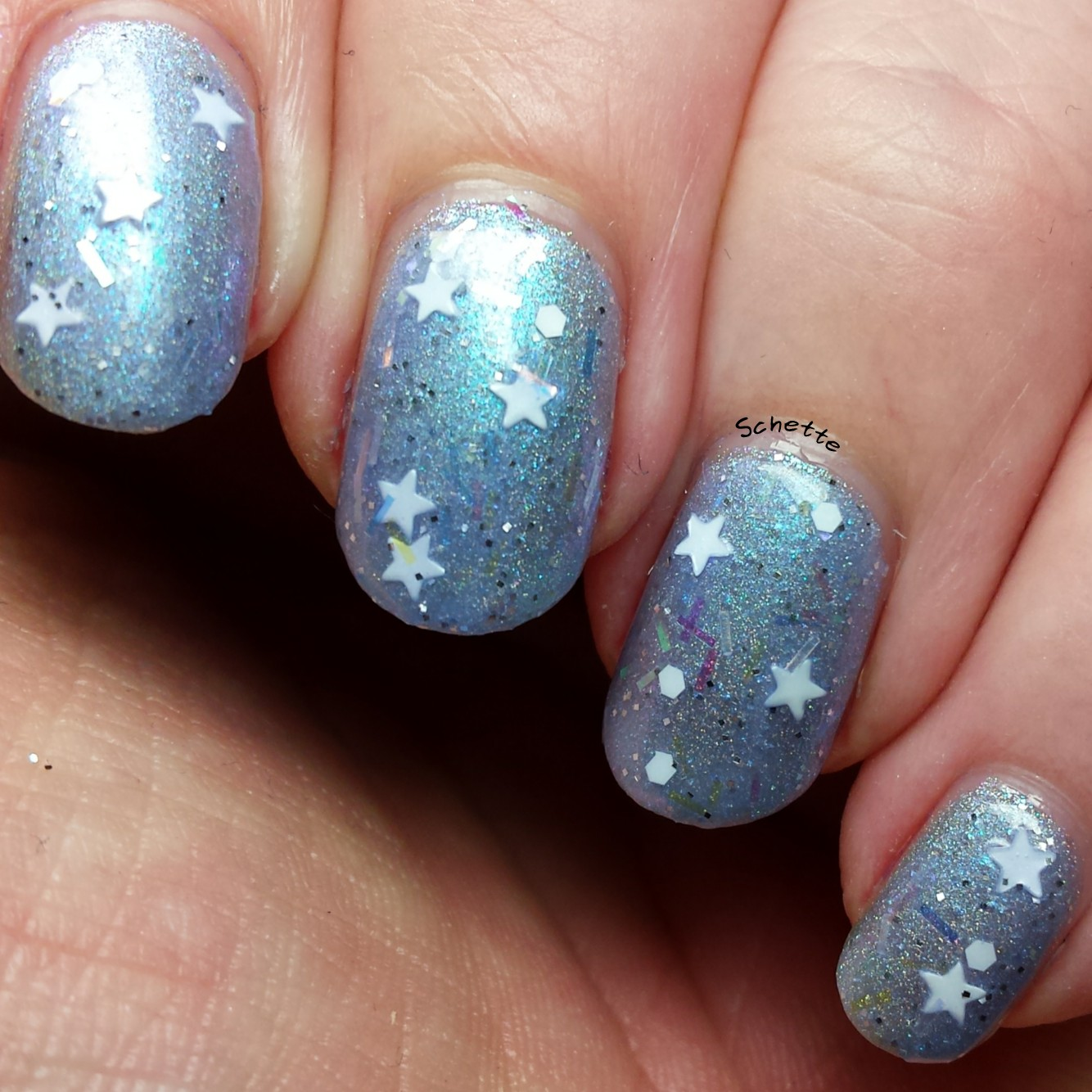 Nail Hoot : Star of Bethlehem, Love birds
