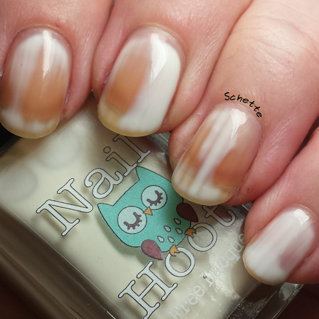Nail Hoot : Talon Super Swatch & Peel Base Coat