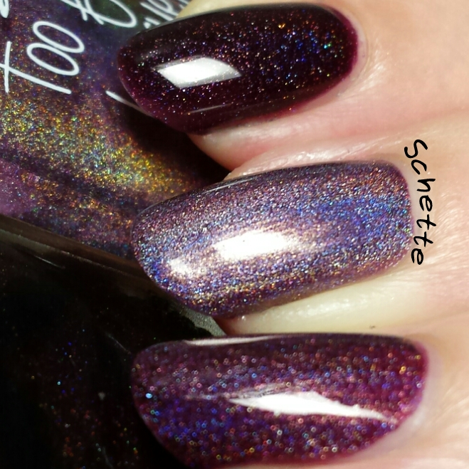 Too Fancy Lacquer : Aphrodite Comparison