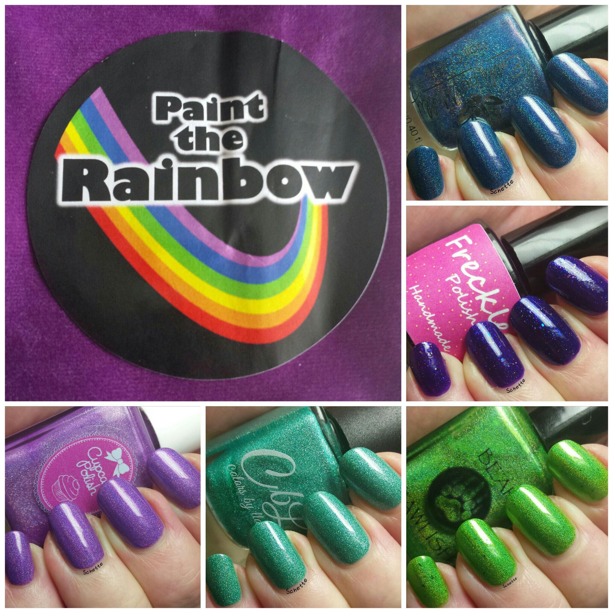 Paint the Rainbow Box : November 2015 - Disney Vilains