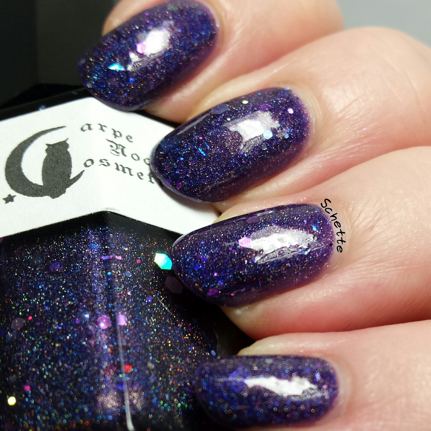 Carpe Noctem Cosmetics : My nurse has sparkles