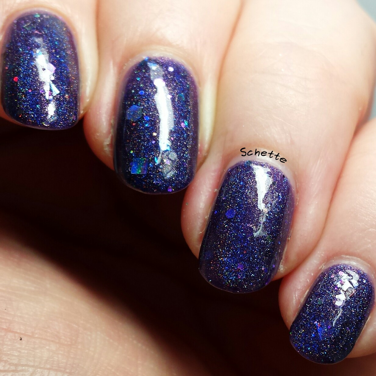Carpe Noctem Cosmetics : My nurse has sparkles
