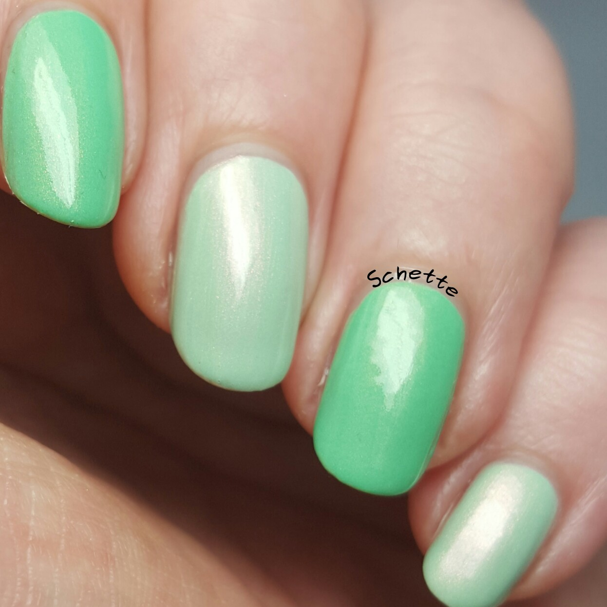 Enchanted Polish : Comparison January and March 2016 with YSL Spring