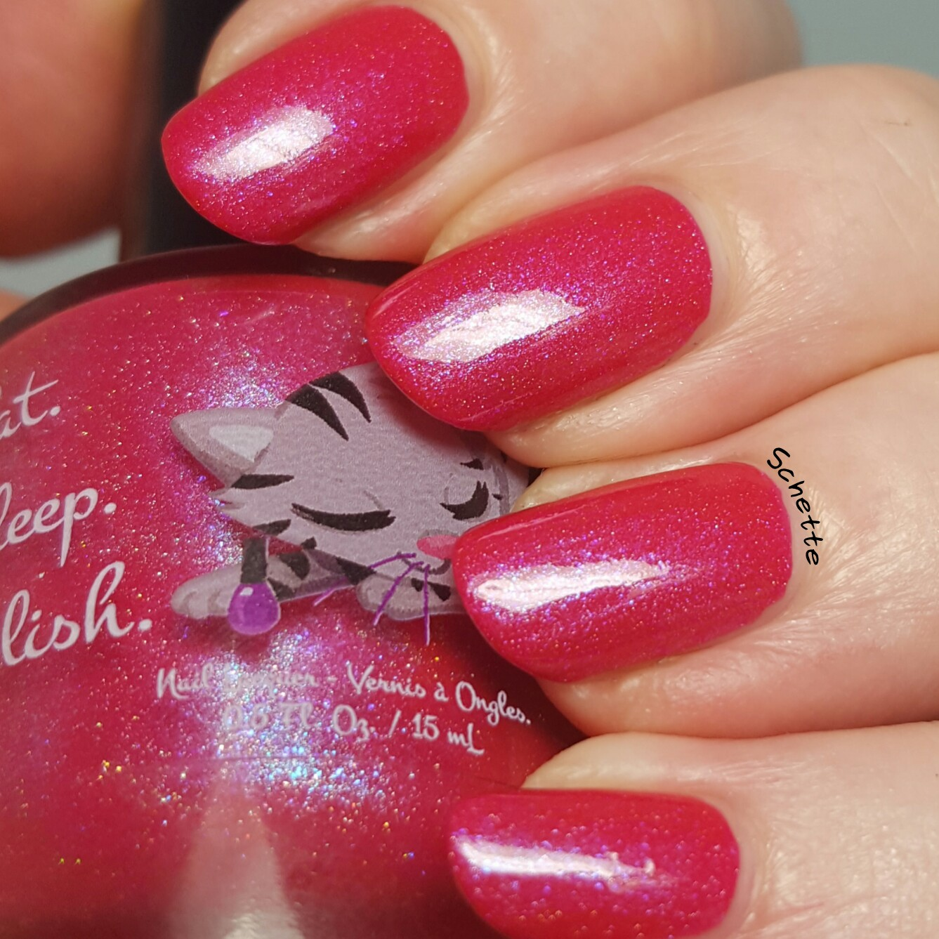 Eat Sleep Polish : Kitty Blossom