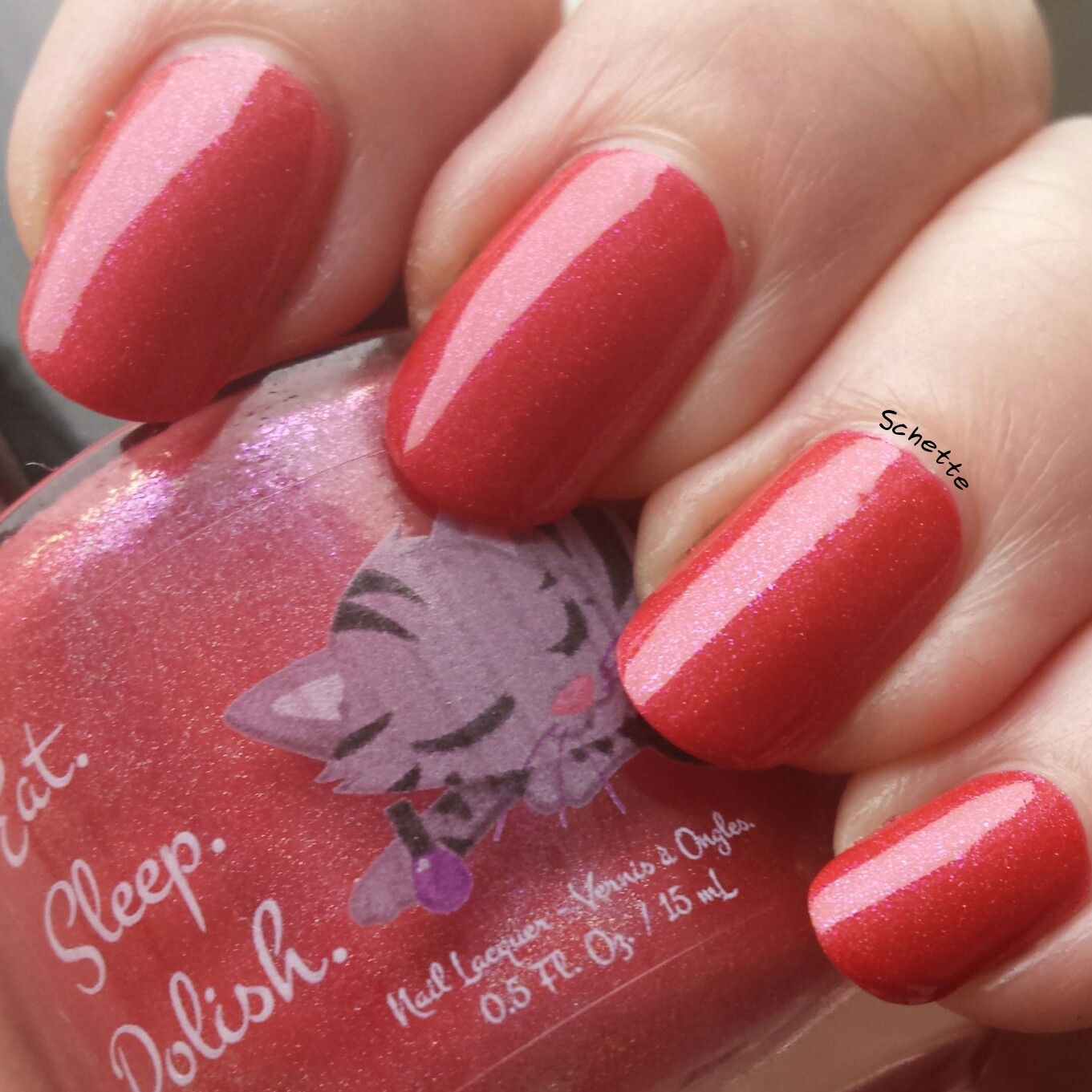 Eat Sleep Polish : Muffy the Mouse, Freddy the flamingo