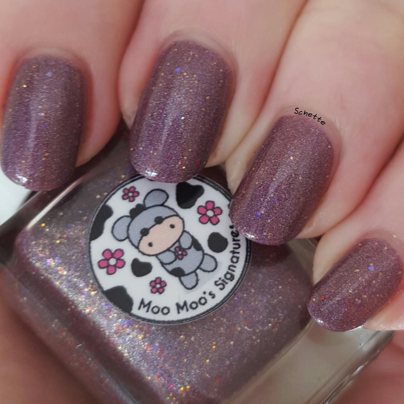 Moo Moo Signature : Sparkly Moo