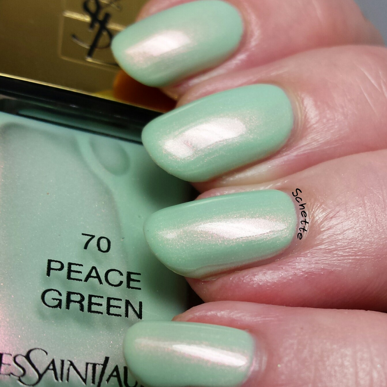 Yves Saint Laurent : Peace Green