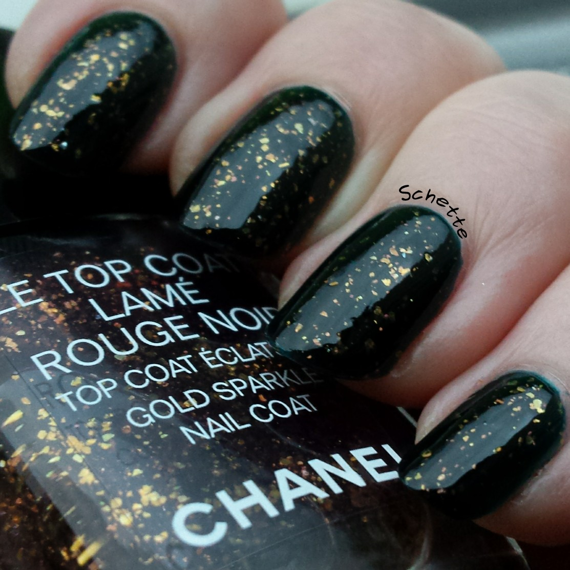 Chanel : Lame Rouge Noir