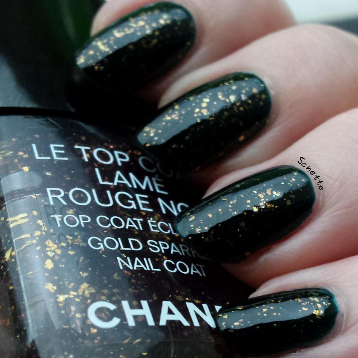Chanel : Lame Rouge Noir