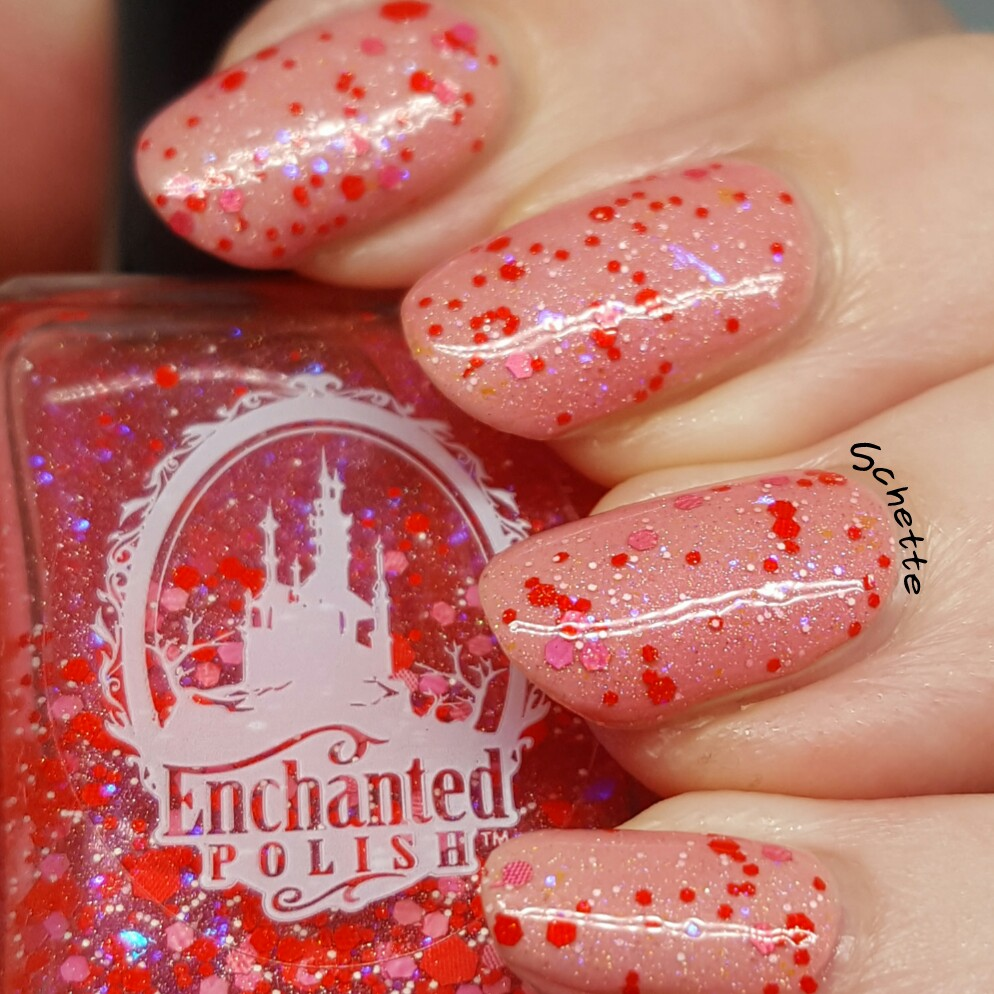 Enchanted Polish : Flamingo Freckles