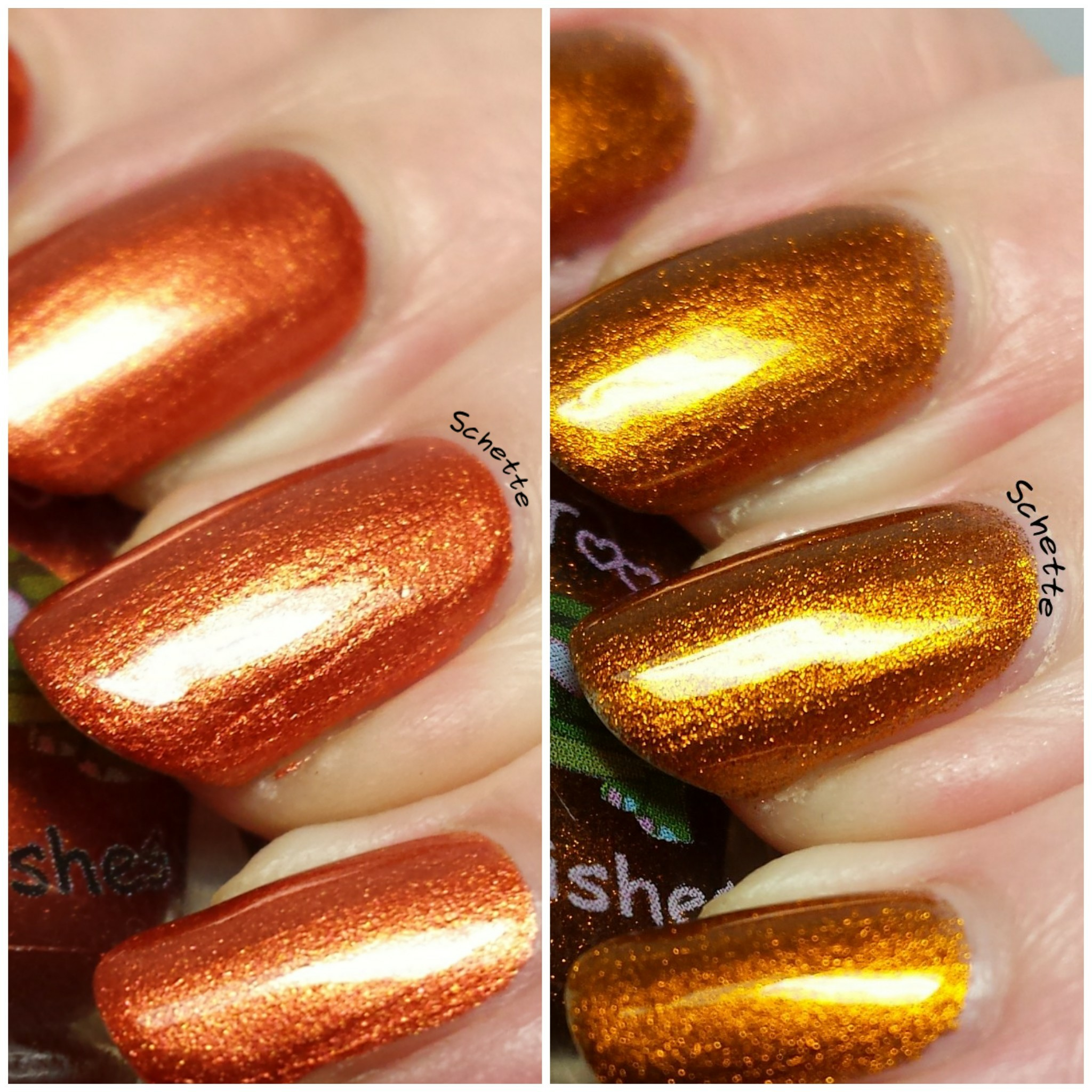 Turtle Tootsie Polish : Smashed Pumpkins, Blood Curdling