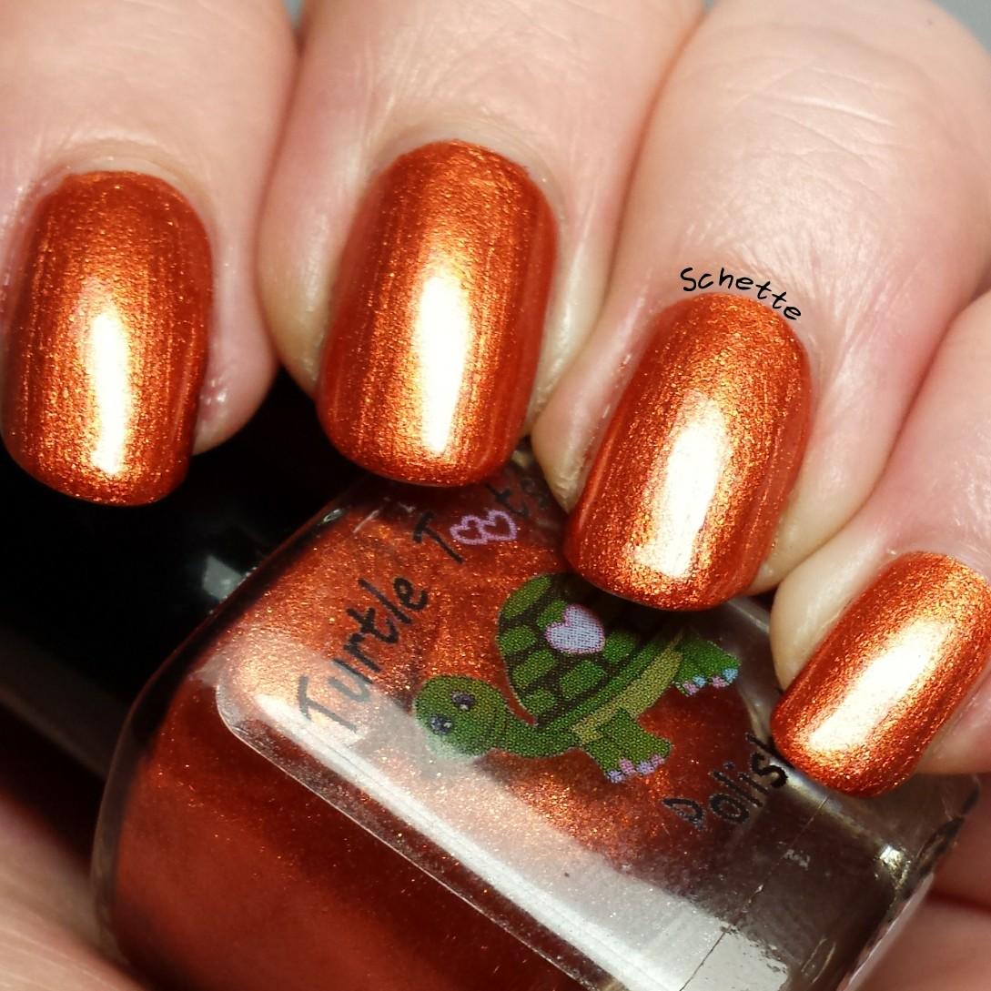 Turtle Tootsie Polish : Smashed Pumpkins, Blood Curdling