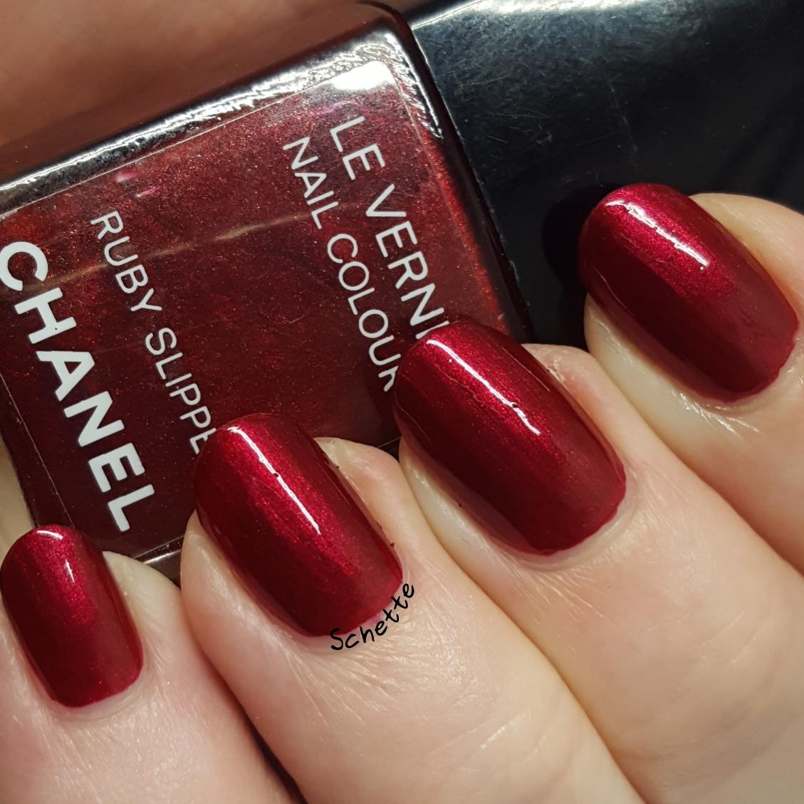 Chanel - Ruby Slipper