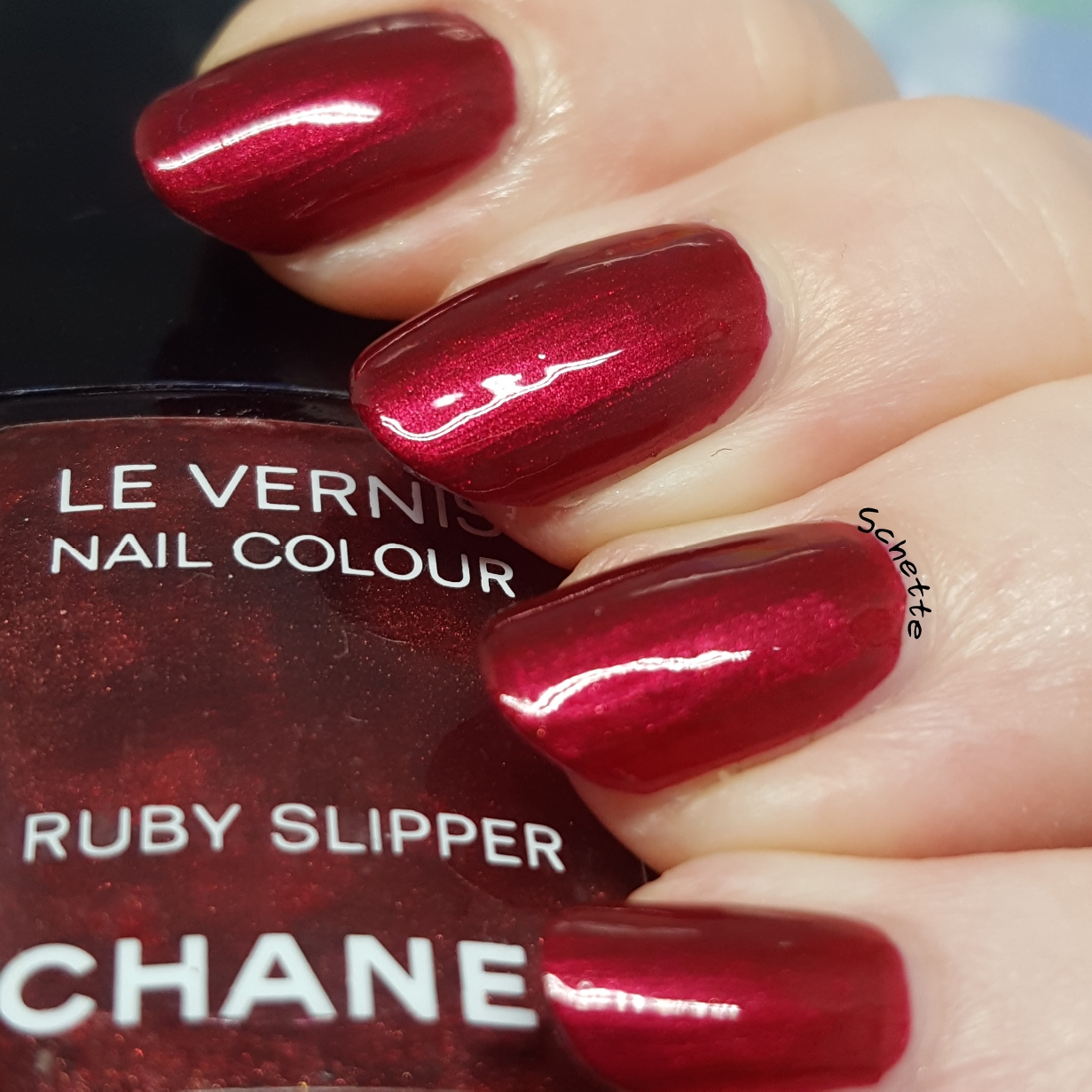 Chanel - Ruby Slipper