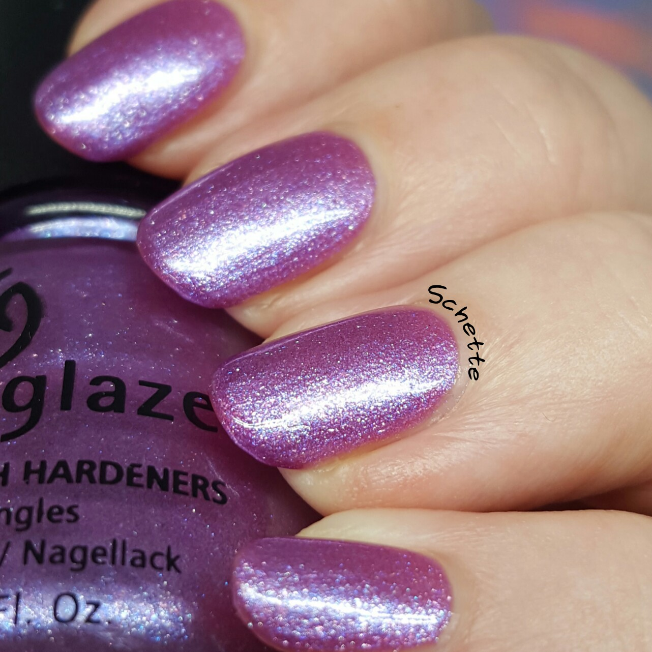 China Glaze - Anklets of Amethyst