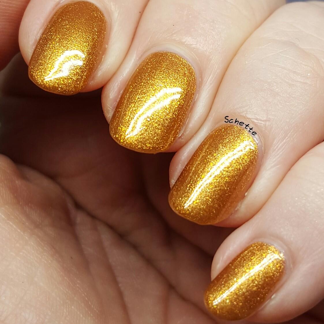 China Glaze - In awe of amber