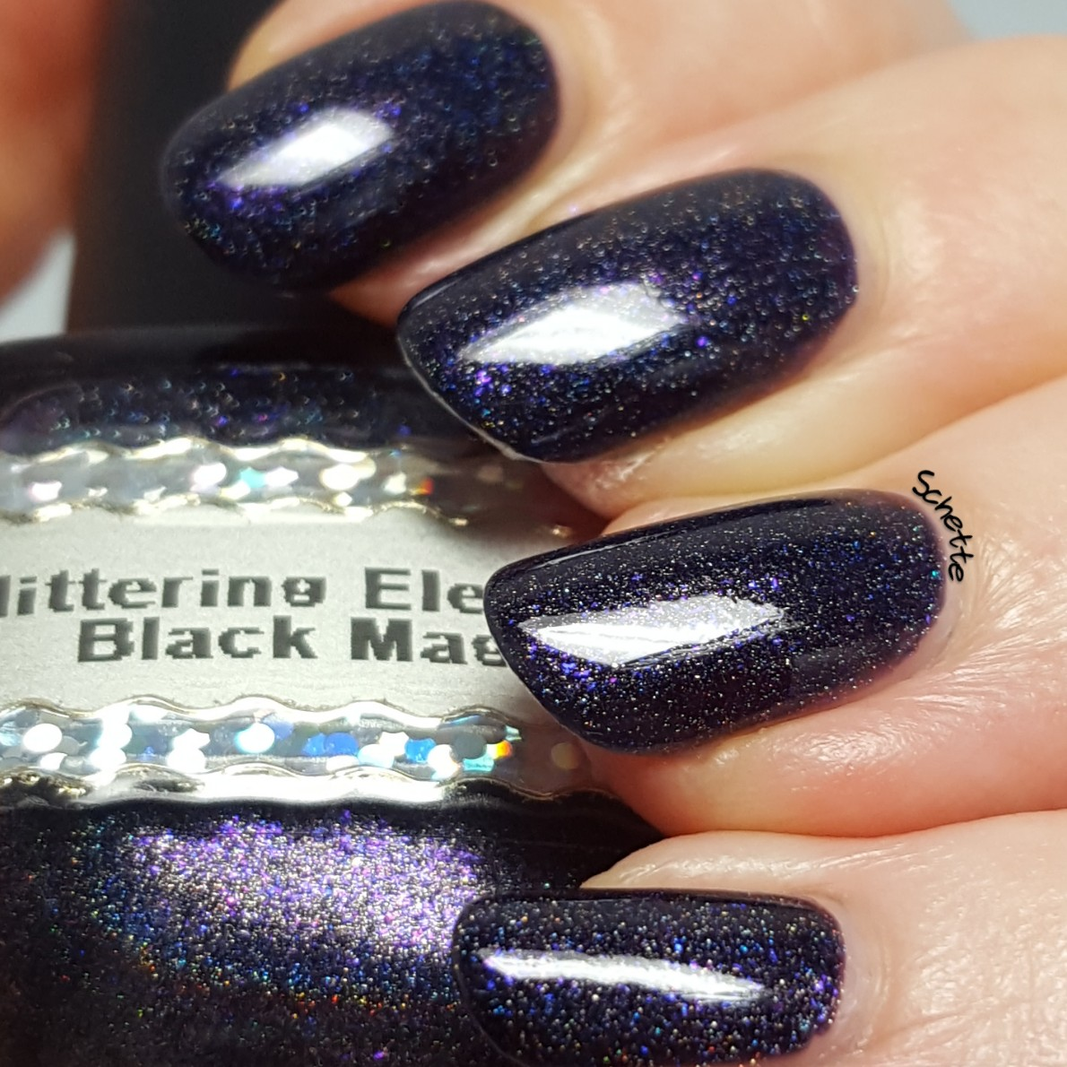 Glittering Elements - Black Magic