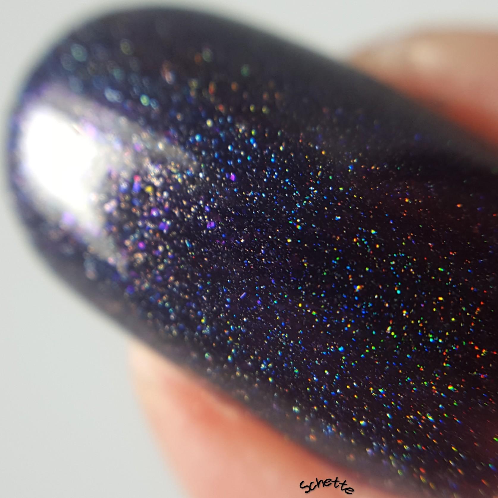 Glittering Elements - Black Magic