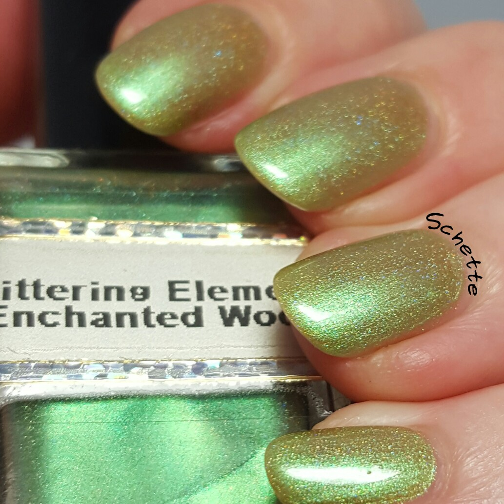 Glittering Elements - Enchanted Wood