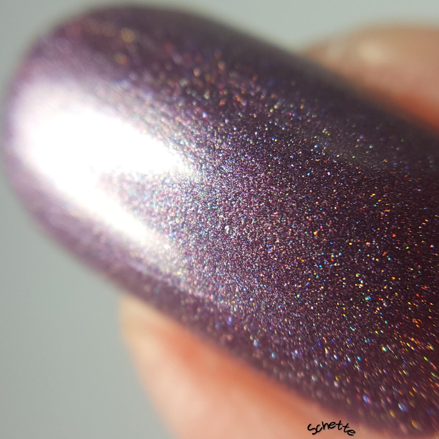 Glittering Elements - Mauvey Star