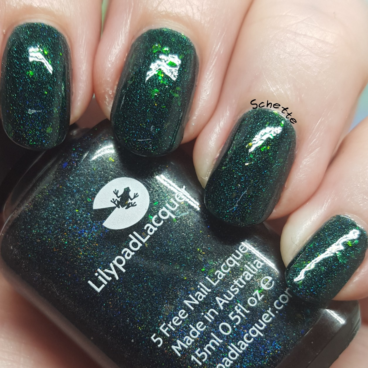 Lilypad Lacquer - Deep Green Sea