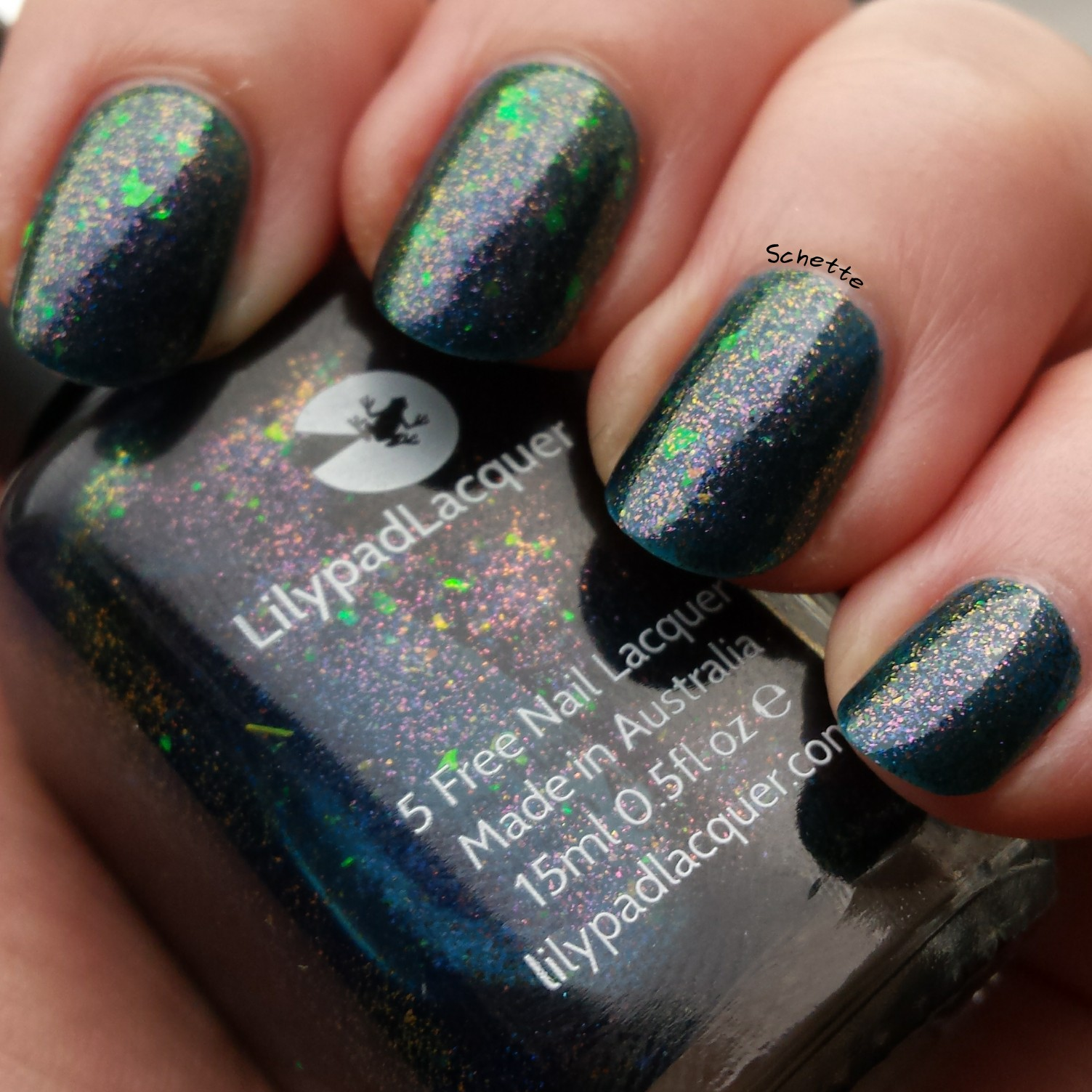 Lilypad Lacquer - Magic at Midnight