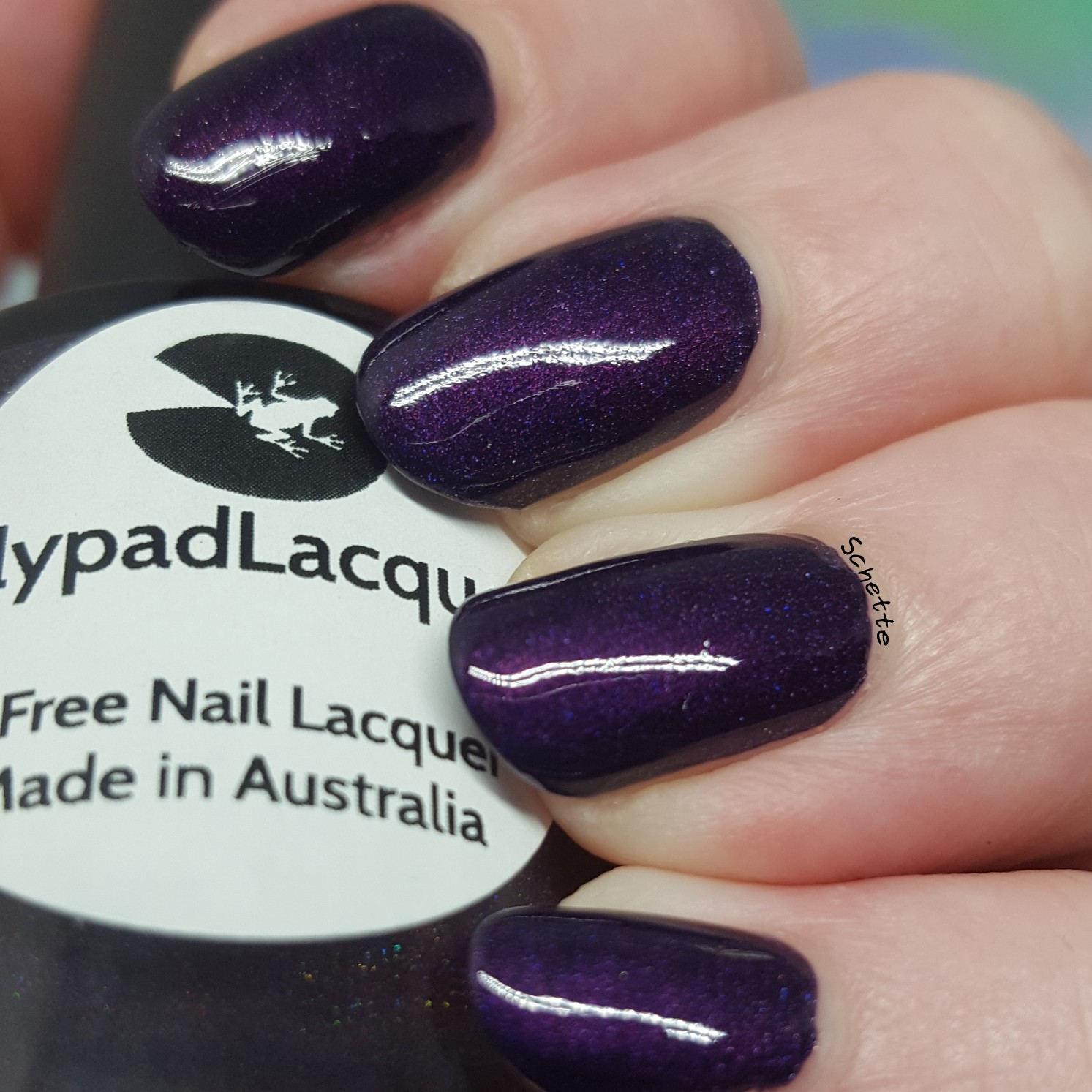 Lilypad Lacquer - Plum Pudding