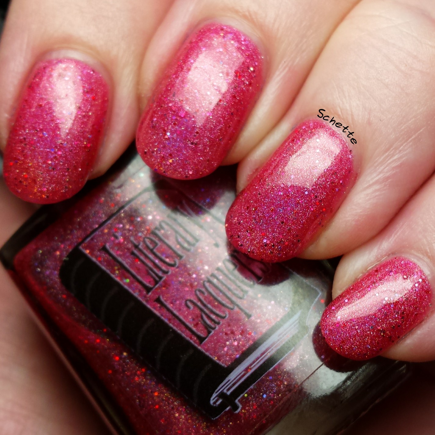 Literary Lacquers - Raspberry Cordial