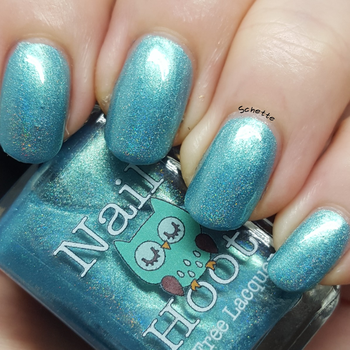 Nail Hoot - December Turquoise