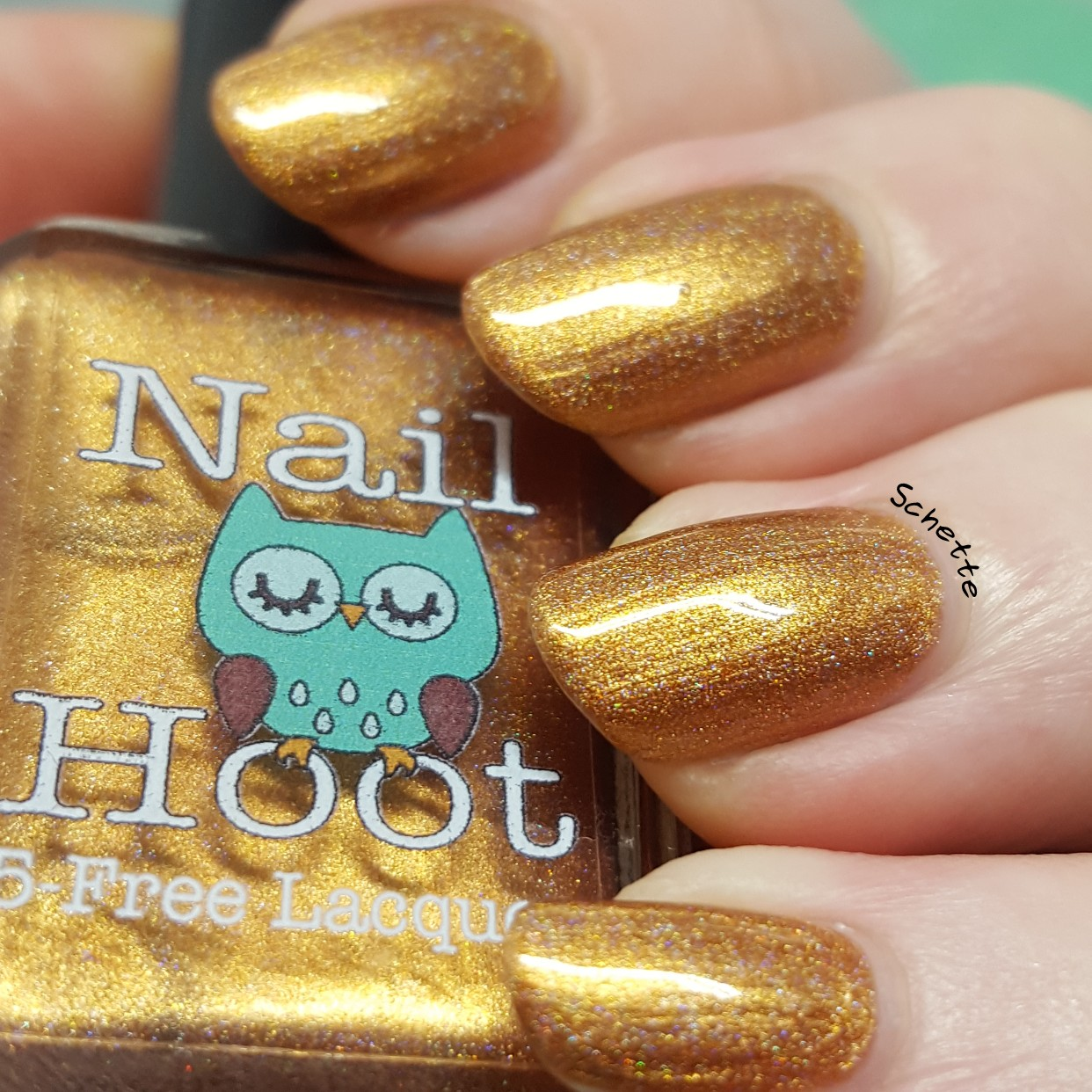 Nail Hoot - Topaz November