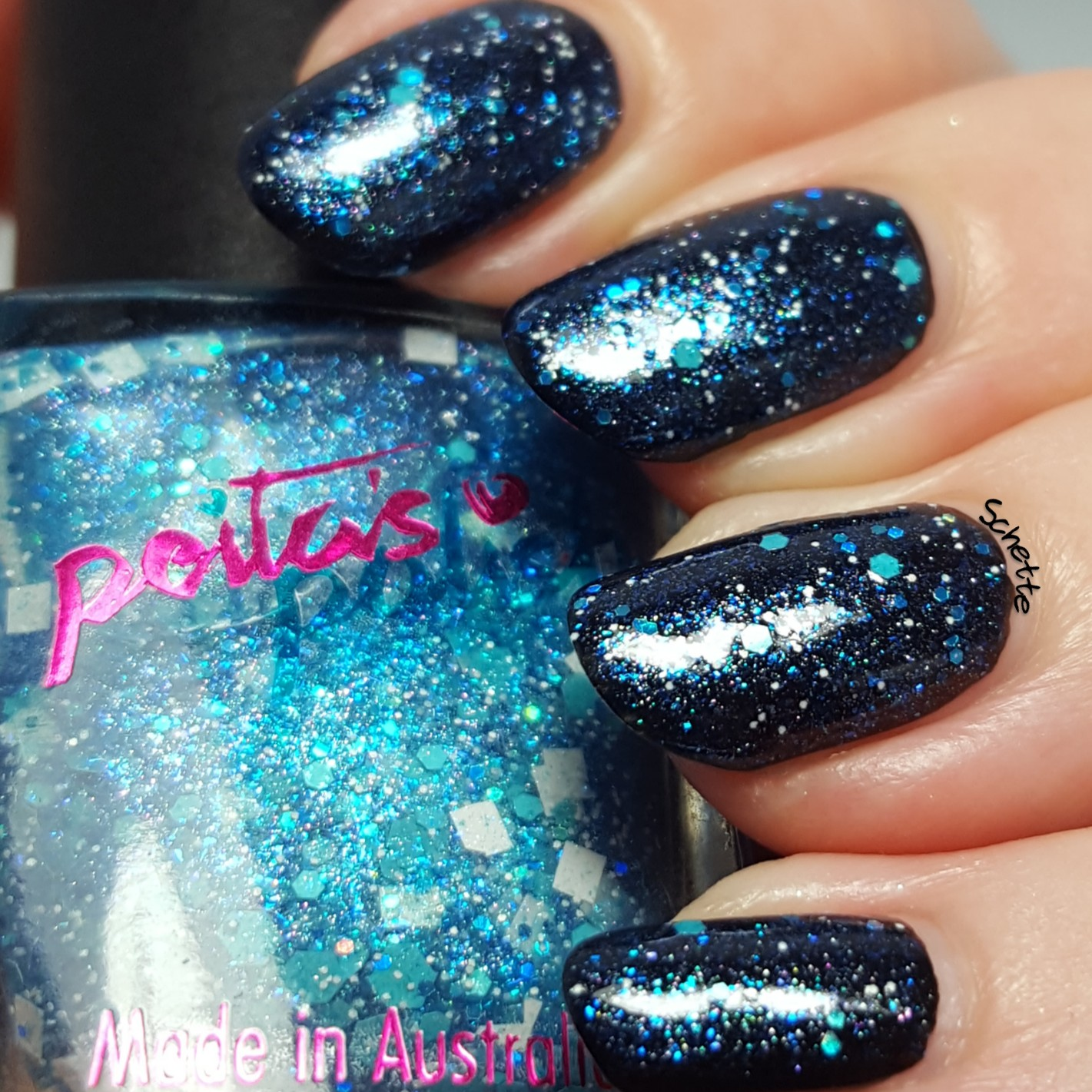 Peita's Polish - Smurf up