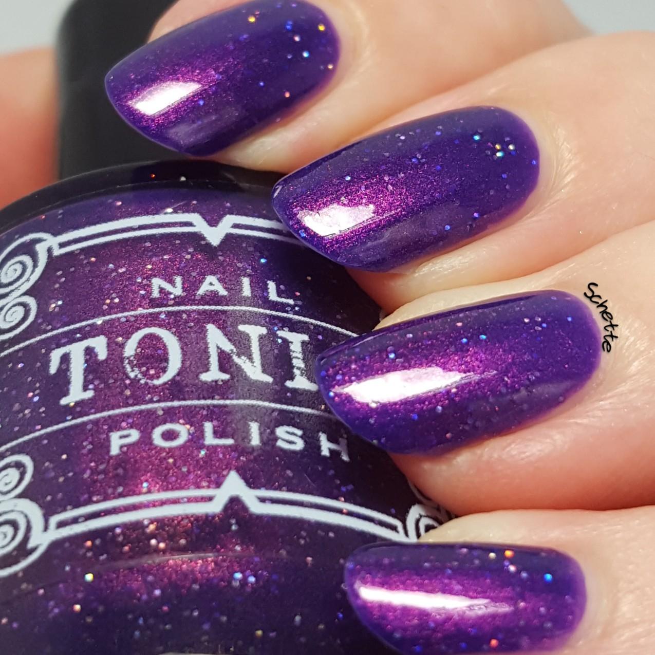 Tonic Polish - Huckleberry Sparkle