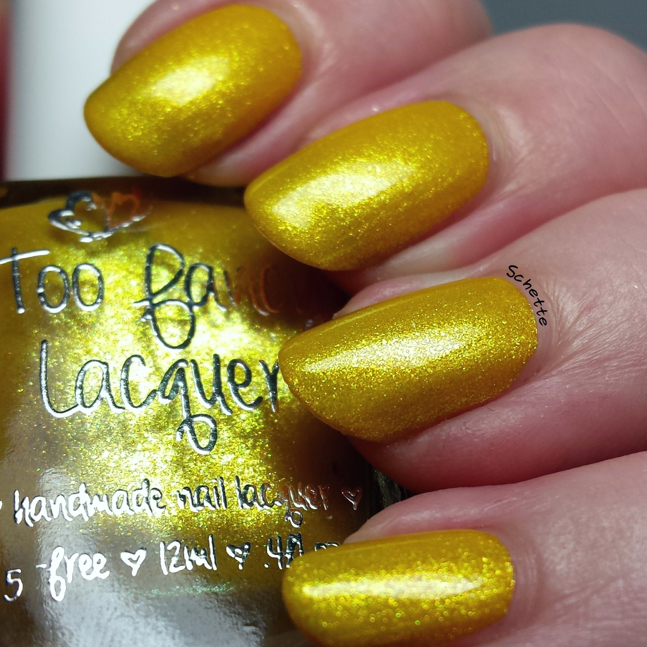 Too Fancy Lacquer - Helios