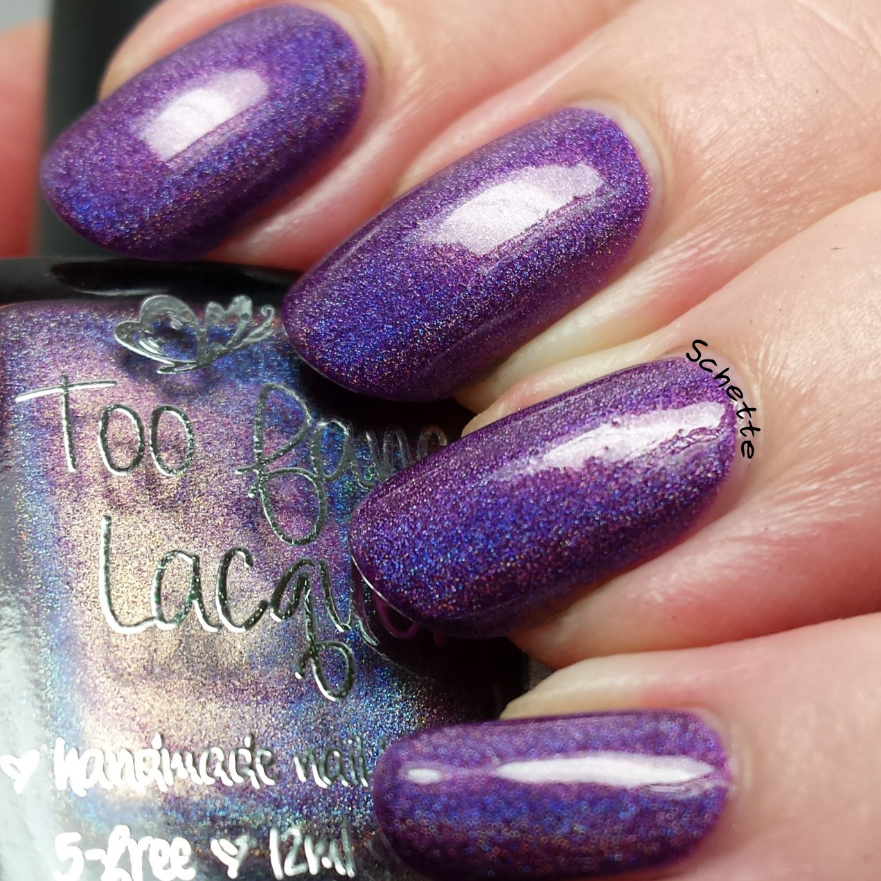 Too Fancy Lacquer - Here Here, w're 2 !